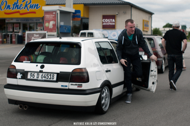 Mk3 Meet at Lough Ennell, Ireland