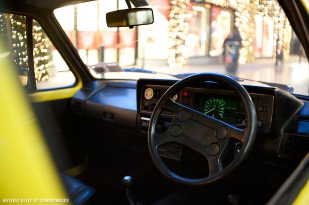 Mo's Bagged Volkswagen Golf Mk1 Diesel on BBS RA