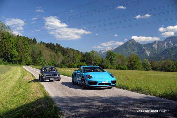 Drake's Porsche 911 Turbo S (991.2) at Wörthersee