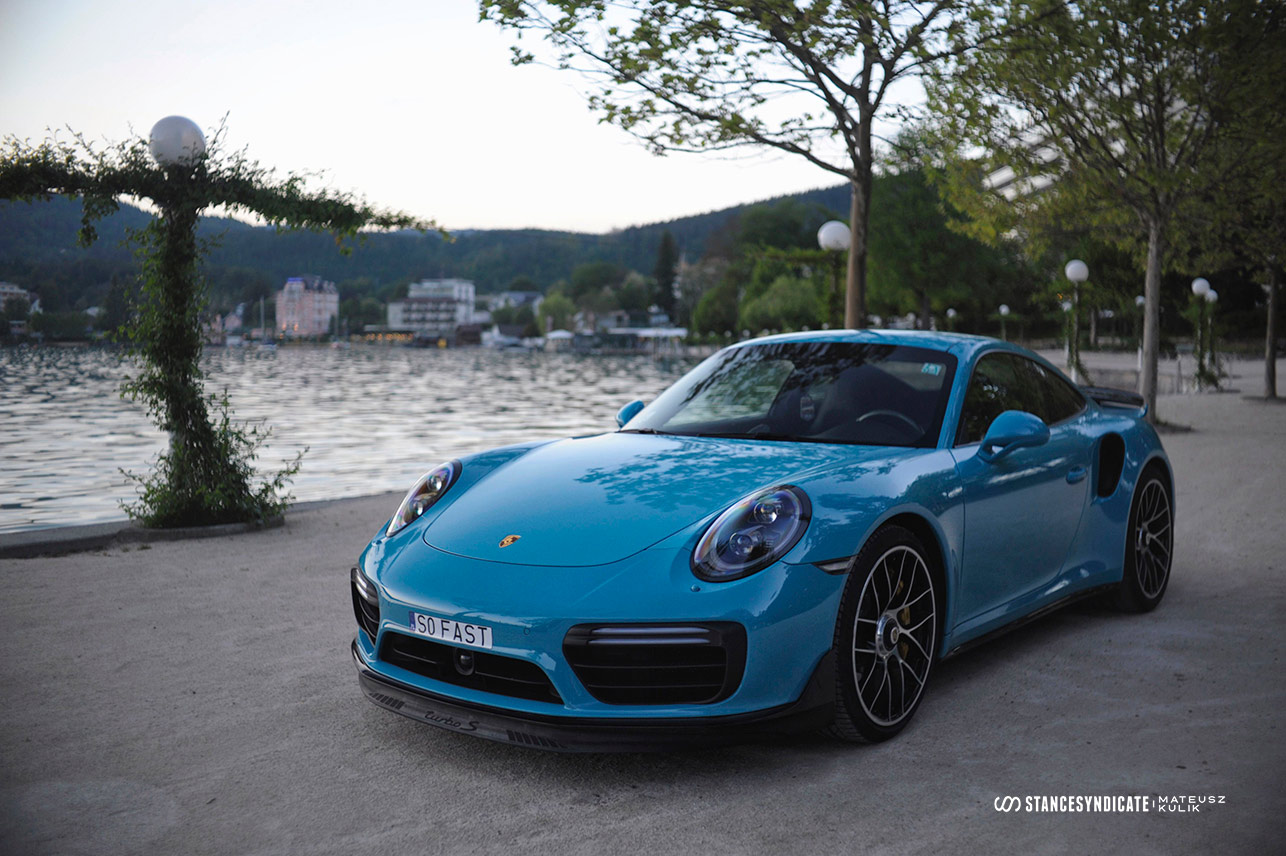 Drake's Porsche 911 Turbo S (991) at Wörthersee