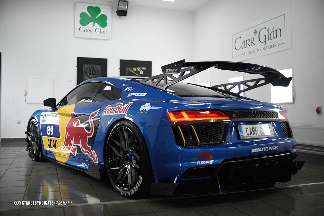 Audi R8 DTM Redbull