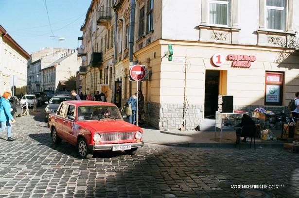 Lviv, Ukraine - 35mm film