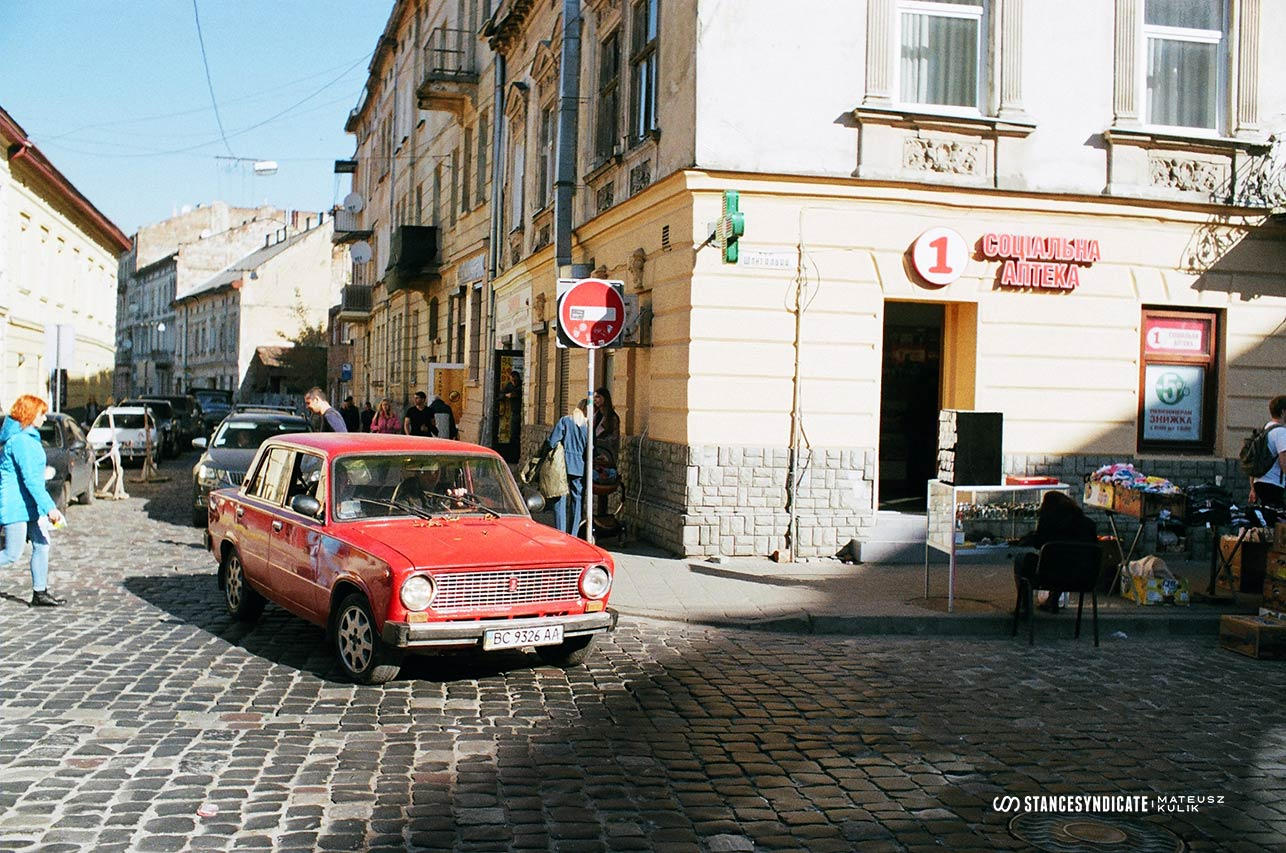 Lviv, Ukraine - 35mm film